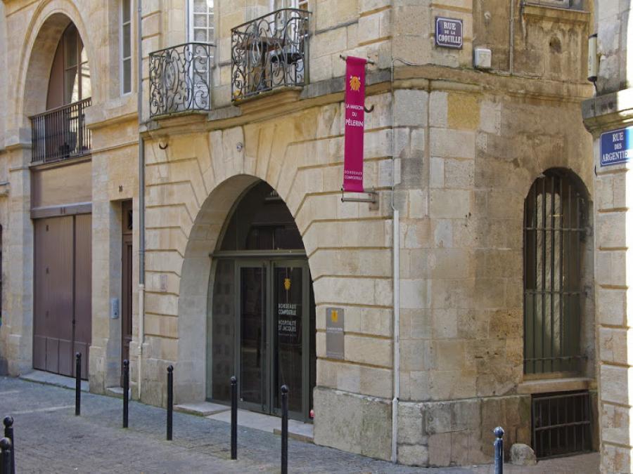 La maison du pèlerin à Bordeaux (Gironde)