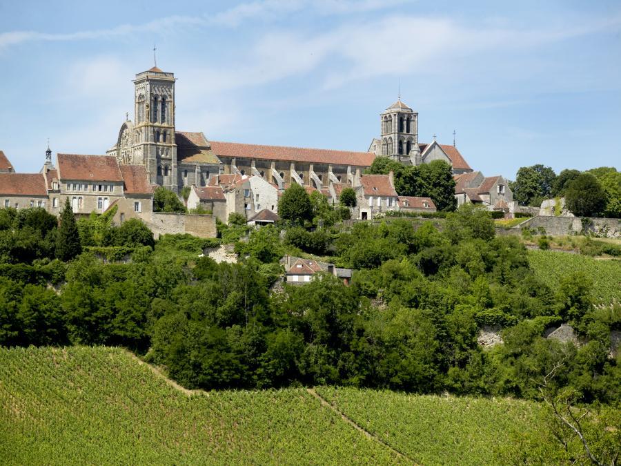 Basilique Sainte-Marie-Madeleine à Vézelay (Yonne)