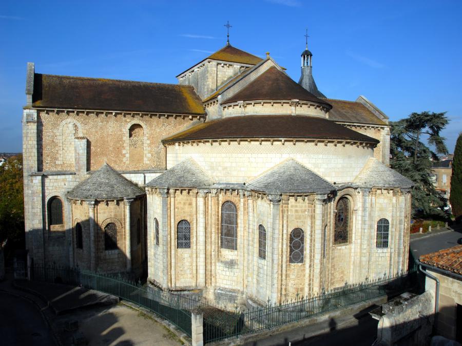 Eglise Saint-Hilaire-le-Grand à Poitiers (Vienne)